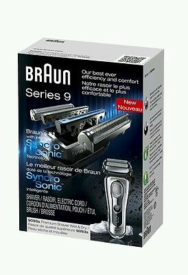 NEW authentic sealed Braun Series 9 9093s Wet and Dry Electric Shaver