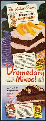 1950's Vintage ad for Dromedary Mixes  (071512)