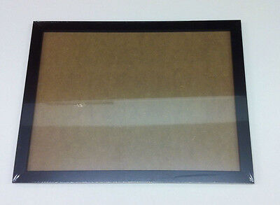 "Job lot of Black MDF 16"" x 12"" Picture Frames with Glass New sealed inc hangings"