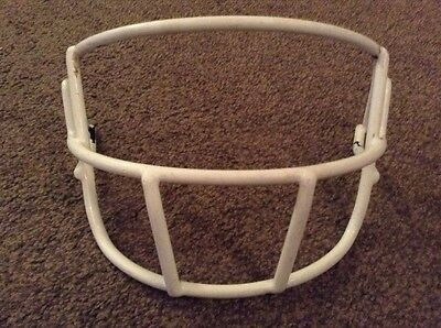 Adams/Schutt Helmet Facecage White American Football