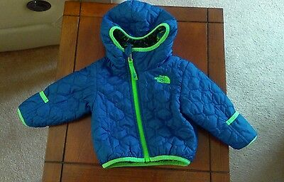 baby boy THE NORTH FACE reversible coat 3-6 months