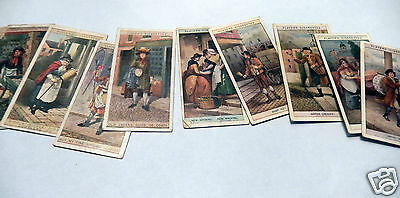 9 John Players Cries of London Cigarette Cards 1st and 2nd Series