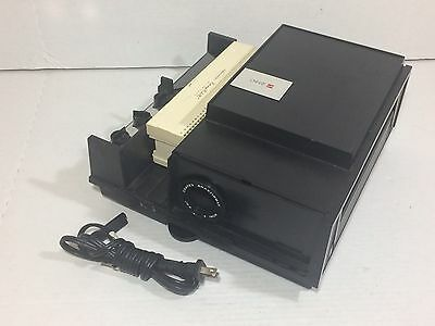 Vintage GAF 2660 2 X 2 35MM Slide Projector w/ Tray Tested and Working