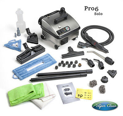 Vapor Clean Pro6 Solo Steam Vapor Cleaner - Home and Commercial Use