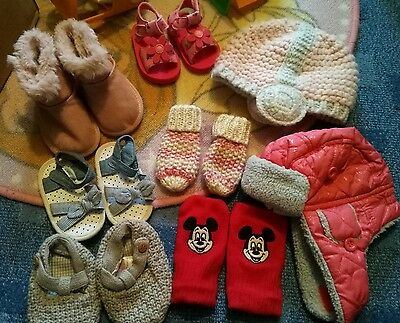 Baby girls Hat and shoe bundle