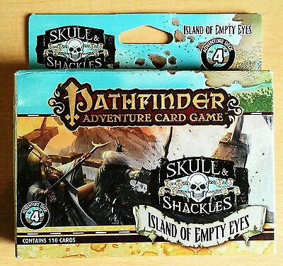 Pathfinder Card Game: Skull And Shackles Adventure Deck 4: Island Of Empty Eyes