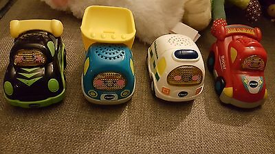 Vtech Toot Toot Drivers Cars X 4