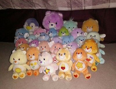29 Care Bears Original And New Varying Sizes