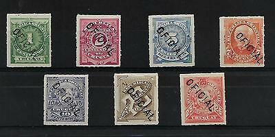Uruguay  Earl Officials Set  Mint  Cat £60