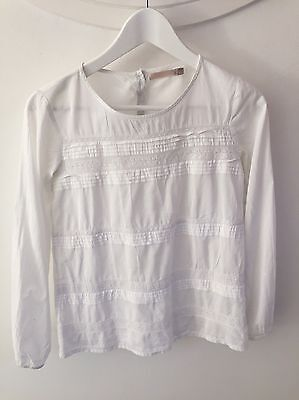 Blouse  taille 14 Ans CFK blanche.