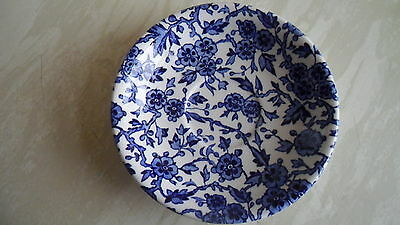"""Two Burleigh Ware Saucers """"arden"""" Pattern"""