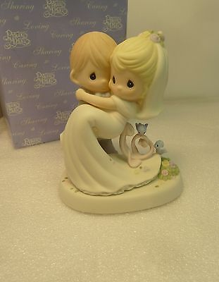 Precious Moments  To Have And To Hold - Groom carrying Bride - 630028 NIB