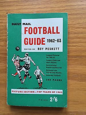 Daily Mail Football Guide 1962 - 63