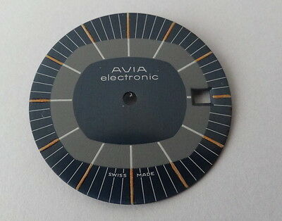 Vintage Avia Electronic Watch Dial (watch parts) (NOS)
