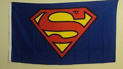 New 3' by 5' Superman Flag. Free Shipping inside Canada and to the USA! Cdn $