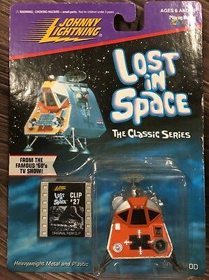 Space Pod, Lost In Space #27 - Johnny Lightning RARE! COLLECTIBLE MODEL