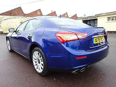 2015 15 Reg Maserati Ghibli 3.0 V6 Auto New Shape Cat-D Light Damaged Salvage