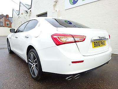 **2016 16 Reg** Maserati Ghibli 3.0Td Dv6 Diesel Auto New Shape Damaged Salvage