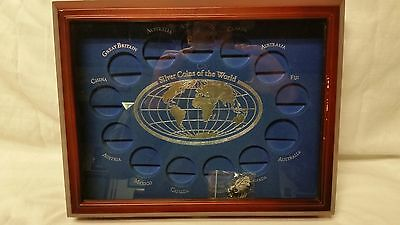 The Danbury Mint, Silver coins of the world display case