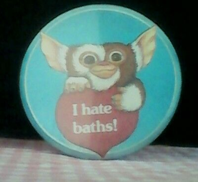 kawaii cute Vintage 80s Gremlins Gizmo pin button