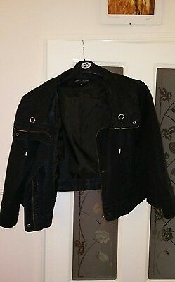 Stunning black marks and spencer limited collection Black ladies jacket size 18