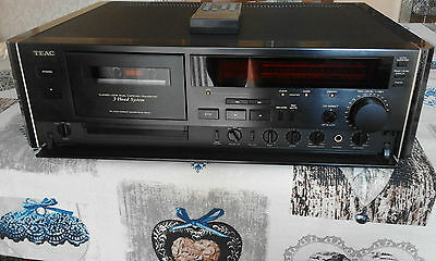 Teac V-9000 Deck Stereo Cassette Piastra Top Di Gamma High-End