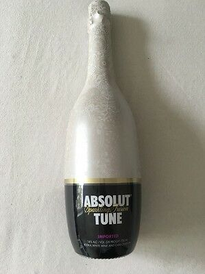 Absolut Vodka Tune V2 750 Ml Champagner Perfect Condition