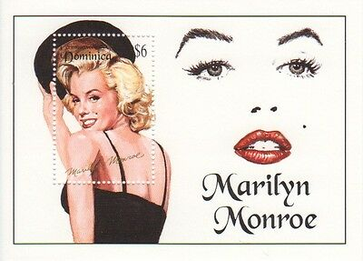 Marilyn Monroe - Dominica - Stamp sheet - SNo42755