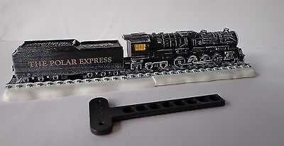 Polar Express PROJECTOR LOCOMOTIVE + paper , kinder MAXI surprise Germany, RARE
