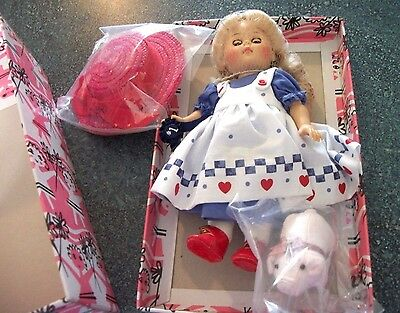 Vintage Ginny Doll Mint In Original Box ( First Place County Fair/ Pig ) August