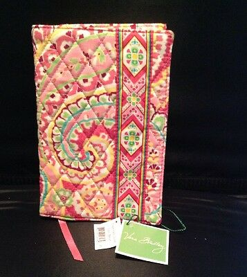 Vera Bradley Paperback Book Cover New With Tag In Capri Melon