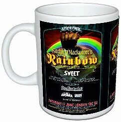 Ritchie Blackmore's Rainbow, Sweet, Blue Oyster Cult Stonefree Poster Mug