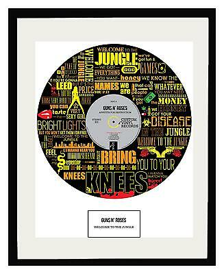 Guns N' Roses Framed Art Poster - Limited Edition - Ideal Gift - Memorabilia
