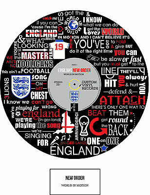 England & New Order POSTER Art - Limited Edition - Ideal Gift - Memorabilia