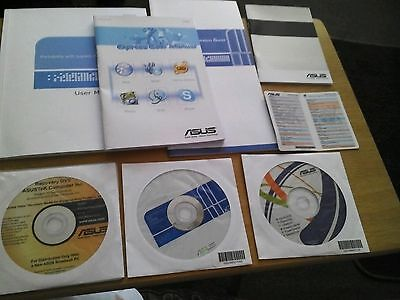 Asus Laptop Complete Set Of Recovery/ Startup Discs And Manuals New And Sealed