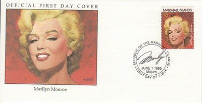 Marilyn Monroe 1995 Marshall Islands cover 01