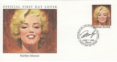 Marilyn Monroe 1995 Marshall Islands cover 03