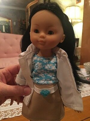 """Rare Corolle Les Cheries Candice 13"""" Asian Doll"""