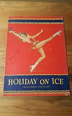 1947, 1949, 1950, and 1951 Holiday On Ice Programs