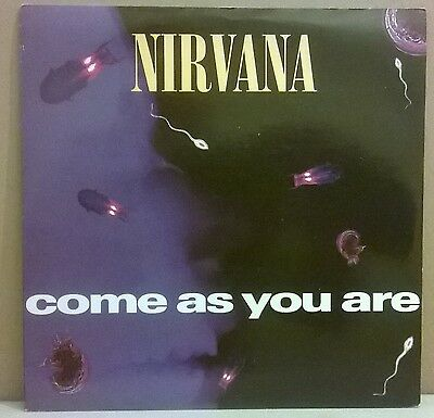 """Nirvana - Come As You Are - Vinyl 7"""" UK 1992"""