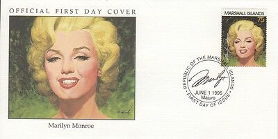 Marilyn Monroe 1995 Marshall Islands cover 02