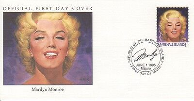 Marilyn Monroe 1995 Marshall Islands cover 04