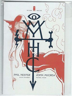 Mythic Issue 1 Cover A May 2015 Image Comics Hester/McCrea/Schubert/Spicer Good+