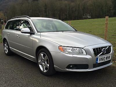 2010 Volvo V70 2.4 D5 Se 205 Bhp Auto Geartronic Diesel 1 Owner Fvsh New Cambelt