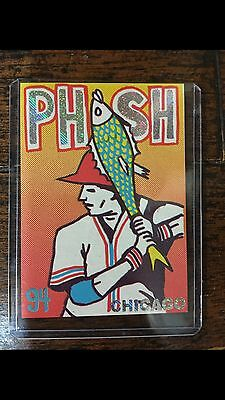 Phish Pollock Baseball Card Set Of 5 Cards Poster Print Chicago UIC Northerly