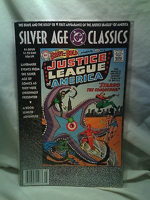 Silver Age Classics Brave and the Bold DC Comics issue 28