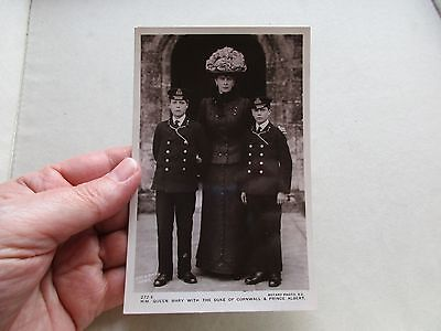 Antique Vintage Edwardian Rare Early Rotary Photo Postcard Queen Mary Royalty Uk