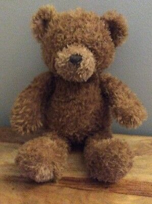 "Gund Brown 14"" Musical Teddy Bear Name Pudding Plays Music Of 'Be My Teddy Bear'"
