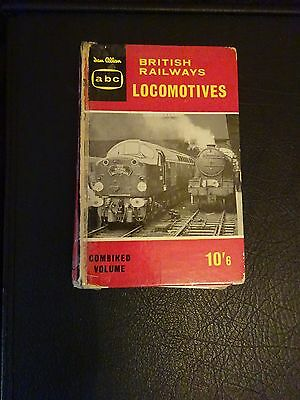 ABC Ian Allan British Railways Locomotives Combined Volume Circa 1960 Hardback