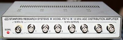 Stanford Research Systems FS710 10 MHz AGC Distribution Amplifier